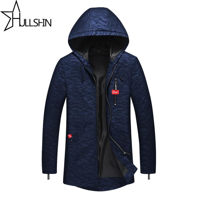 2017 High Quality Cap Spring Winter Men's Jacket Long Sleeve Men Jacket Zipper Wind Coat Plus Size Pure Color Printing ZK90