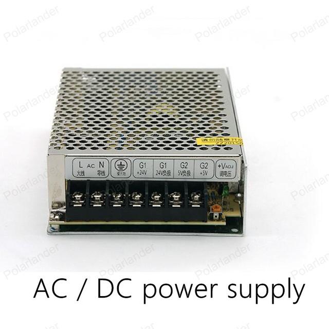 Seguro de calidad simple operación de AC/DC 12 V 50 W salida doble fuente de alimentación Transformador de la Iluminación LED de alimentación tira Unidad de suministro de