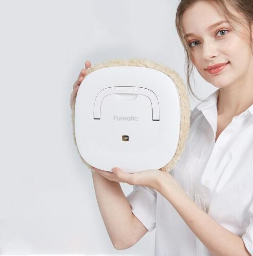 2018 Newest Intelligent Mopping Robot Wet And Dry Use 2 Colors USB Electric Vacuum Cleaner Robot With Free Mops Aspirador стоимость