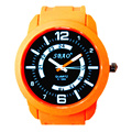 Sbao Hand Watch Woman Water Resistant Silicone Strap Sport Watches Yellow Relogio Feminino Esportivo Marcas Famosas Quartz Watch
