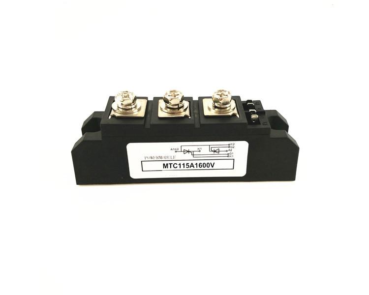 Thyristor Module MTC 115A 1600V Thyristor Module mtc250a 1600v mgr industrial grade thyristor module thyristor module pressure 1600vac