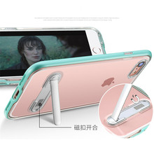 Luxury Clear Bracket TPU Case For Huawei P10 P20 Plus Pro Lite Hybrid PC +Soft Stand Silicone Holder Protective Cover Caqa