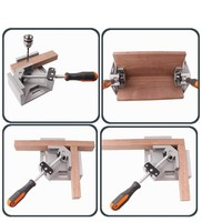 2016 New Hardware Single Jaw Conor Handle 90 Degree Right Angle Clamp Woodworking Clip DIY Photo