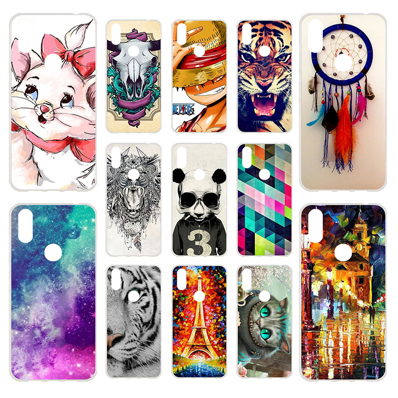 Back Cover For Doogee Y8 Case Silicone Soft Protective TPU Case For Coque Doogee Y8 Bumper Mobile Phone Accessories Bags 6.1 ""