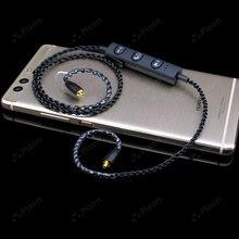 цена aptX Bluetooth wireless adapter for SE535 UE900 TF10 earphone cable for IE80 IE8I W4R IM50 LS400 Z5 A2 XBA300AP ZST ZS10 V80 в интернет-магазинах