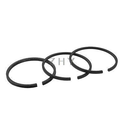 53mmx51mm Air Compressor Balance Piston Ring Sealring Pistonring Set 3 in 1 air compressor o ring 1 2pt thread oil level sight glass