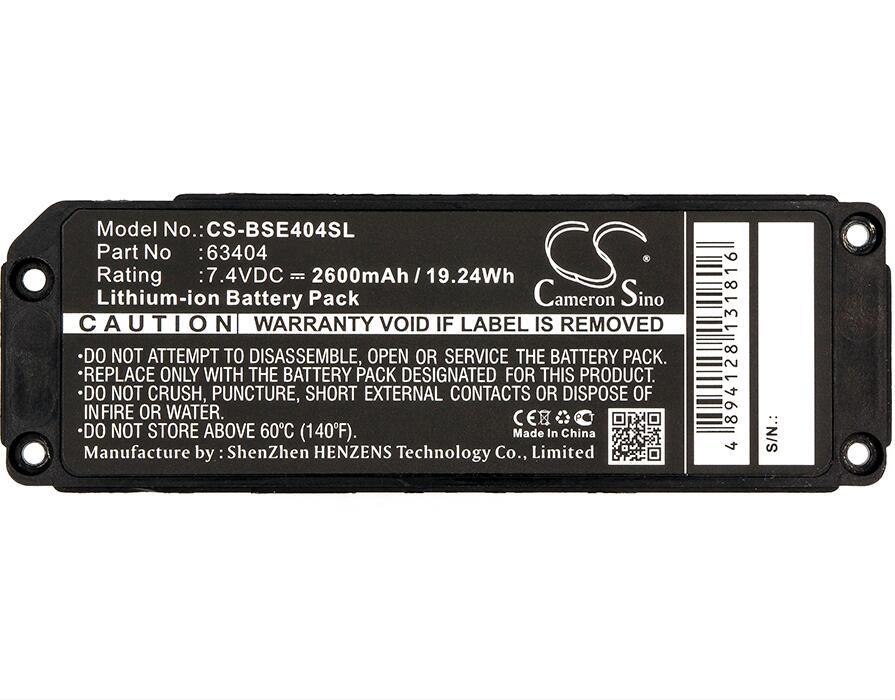 Batterie Cameron Sino 2600 mah pour batteries BOSE Soundlink Mini 063287 063404Batterie Cameron Sino 2600 mah pour batteries BOSE Soundlink Mini 063287 063404