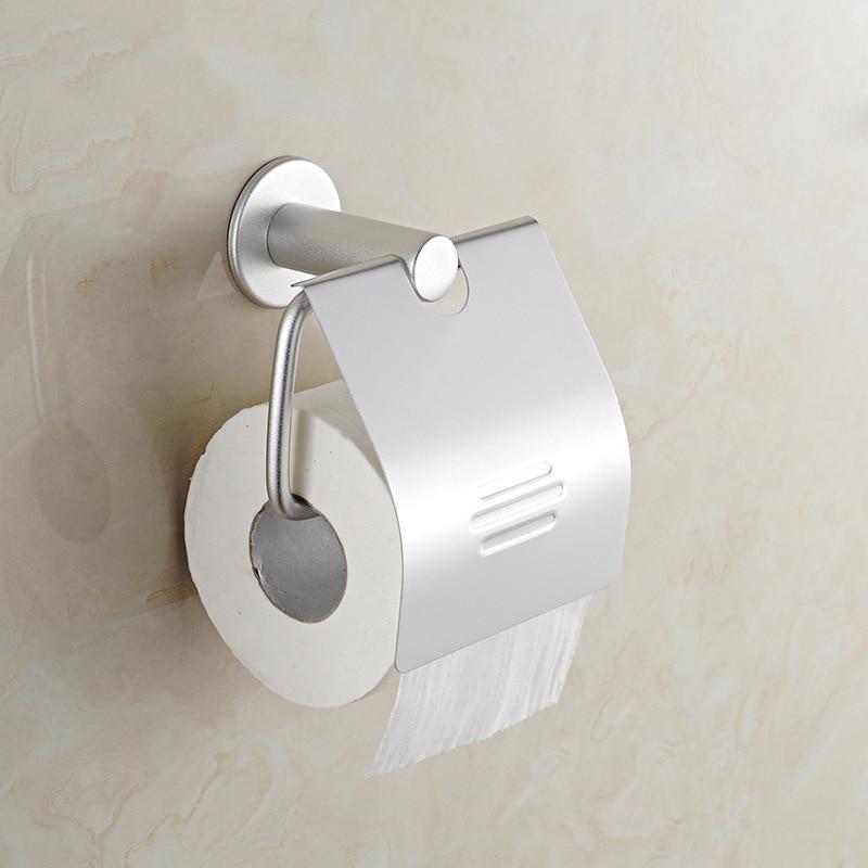 Bathroom toilet paper holder wall mount stainless steel bathroom accessories top of - Bathroom accessories toilet paper holders ...