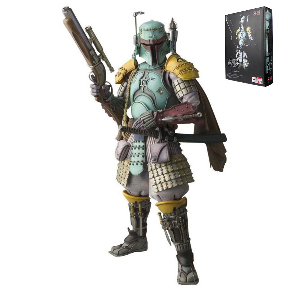 "Movie Realization <font><b>Star</b></font> <font><b>Wars</b></font> <font><b>Ronin</b></font> <font><b>Boba</b></font> <font><b>Fett</b></font> Action Figure Collection <font><b>7</b></font>"" Hasbro0188"