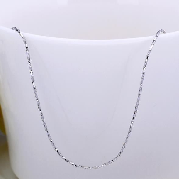 Necklace Chain Trendy Jewelry Necklace Women Men 0 55mm 18 Inches Thin Gold Chain Wwer Lgpc005 18 Jewelry Necklace Women Jewelry Necklacenecklace Women Aliexpress
