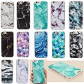 Ultra Slim Granite Marble Pattern Texture Gel Soft TPU Back Case Cover for Apple iPhone 5/5S/SE/6/6S/ Plus Protective Phone Bag