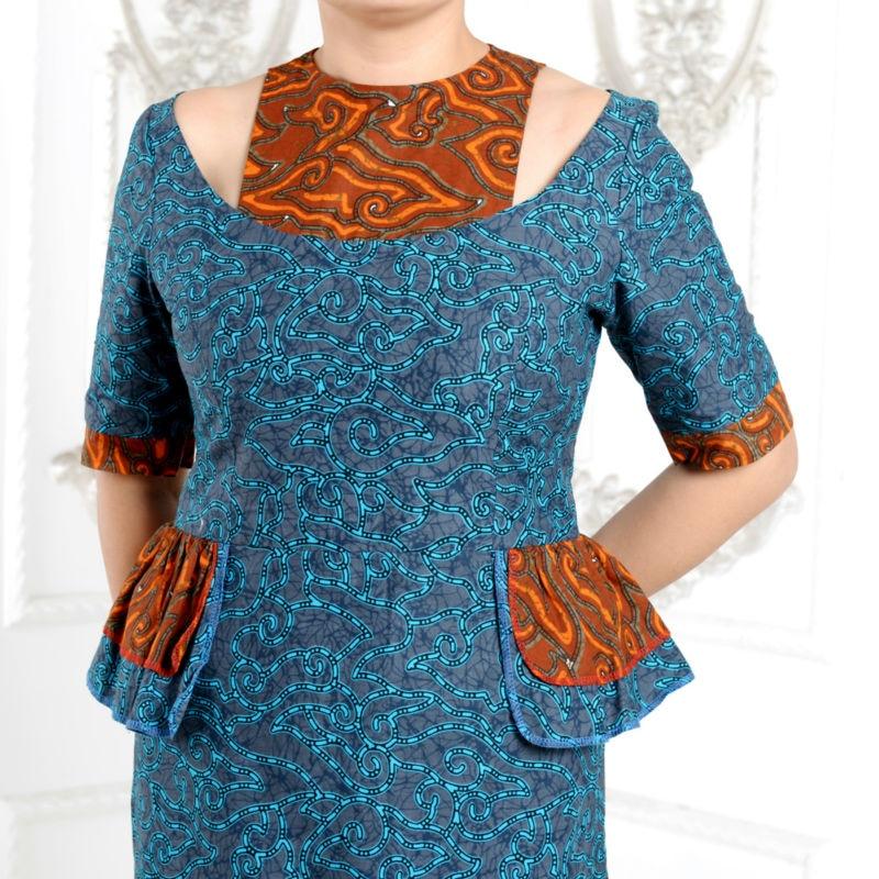 2019 Afrique robes pour femmes classique style élégant coton - Vêtements nationaux - Photo 5