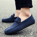 2017 New Men Casual Shoes Brand Faux Moccasin Leather Slip On Driving Oxfords Shoes For Men Flat Loafers Moccasins Flats O2224