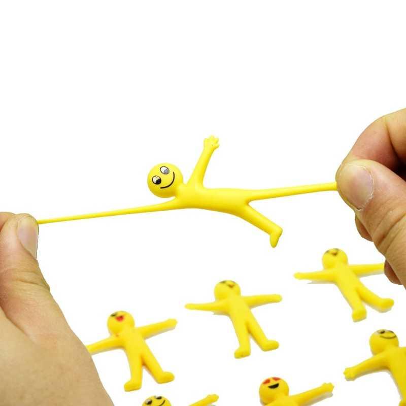 Engraçado Expressão Sorridente Rosto Puxar Elf Boneca Crianças Brinquedos Do Bebê Caçoa o Presente Da Novidade