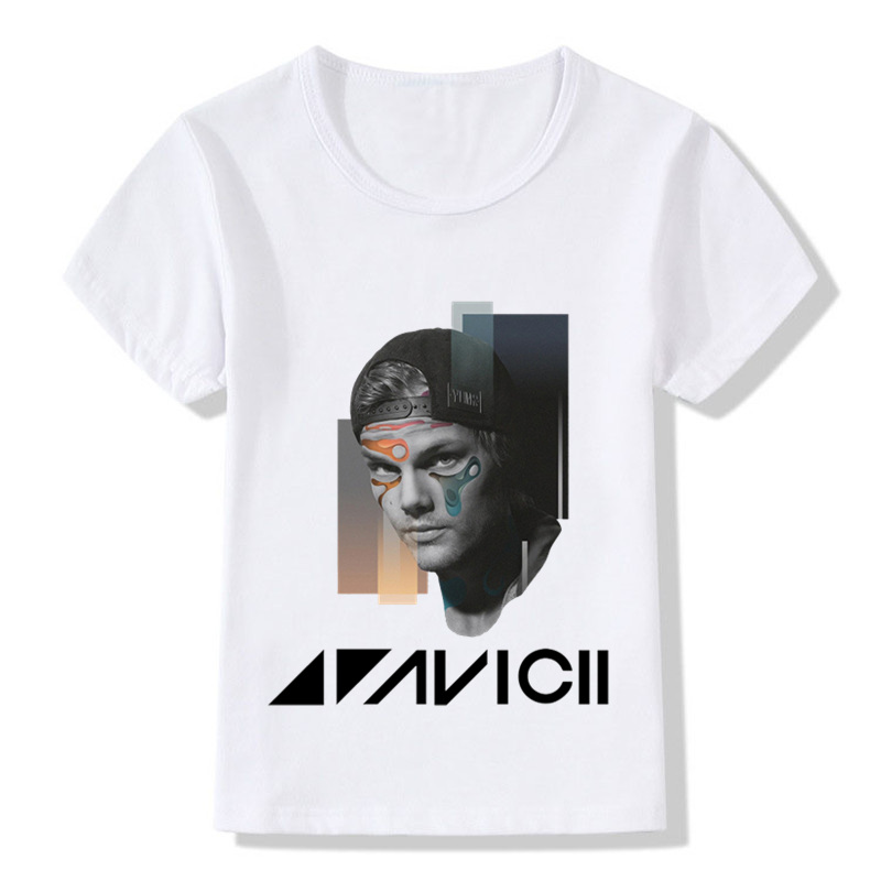 Music Dj Avicii Wake Me Up Design Children's Fashion T