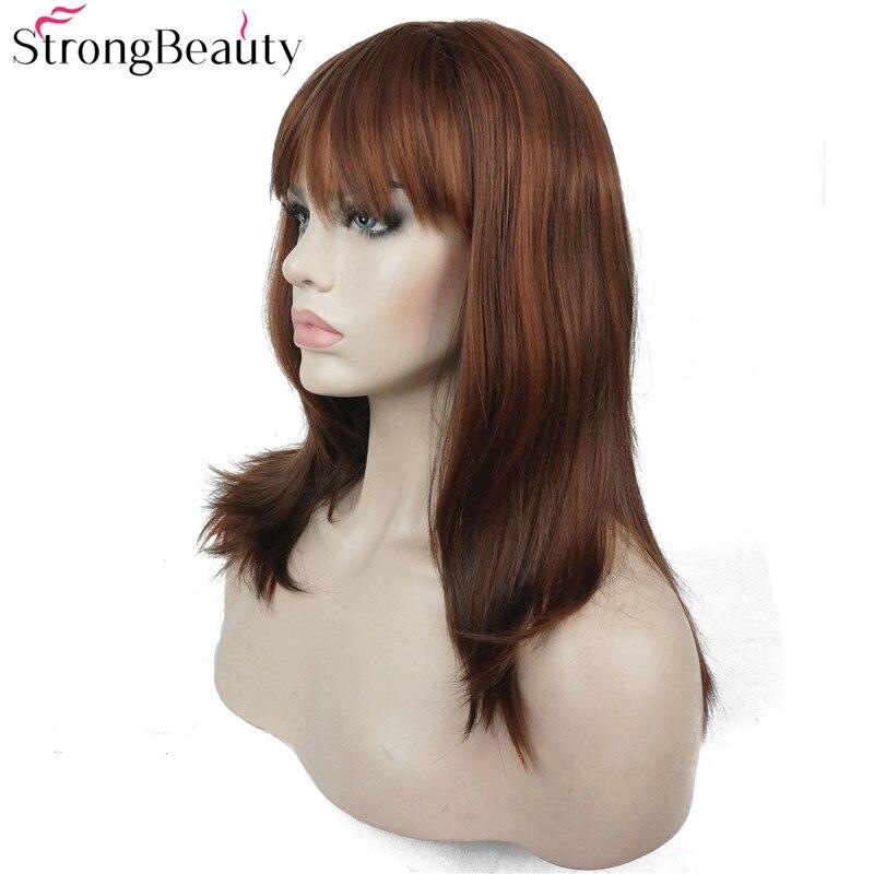 Ισχυρή ομορφιά Συνθετική Long Straight - Συνθετικά μαλλιά - Φωτογραφία 4