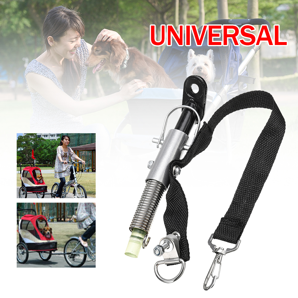 Universal Bike Trailer Steel Linker Bicycle Trailer Classic Hitch  Model Baby Pet Coupler Hitch Linker