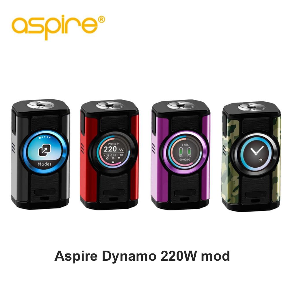 Electronic Cigarette aspire Dynamo Vape Kit 220W High Power