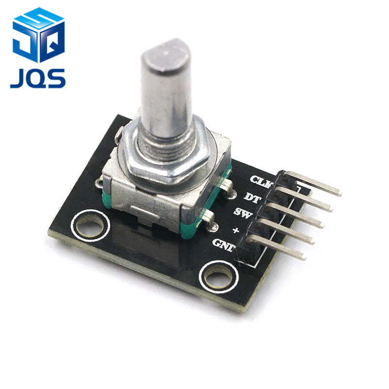 360 Degrees Rotary Encoder Module For Arduino Brick Sensor Switch Development Board KY-040 With Pins