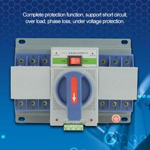 цена на Automatic Transfer Switch 220V 63A 3P Mini Intelligent Dual Power AutomaticTransfer Switch 3P Automatic Transfer Switch