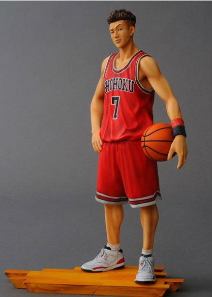 ФОТО Slam Dunk Toys Doll Action Figure Ryota Miyagi Basketball Trapeze PVC Figurine 20cm