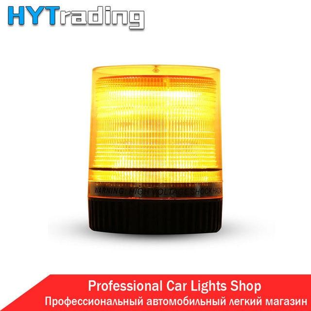 Police Lights Amber Car Truck BUS Roof Top LED Emergency Warning Flash Beacon Strobe Light Bar Ambulance Fog Lamp
