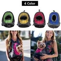 Pet Carrier Dog Carrier Pet Borsa Zaino Borsa Da Viaggio Portatile Pet Dog Anteriore Maglia Zaino Testa Fuori Doppia Spalla Esterna AA