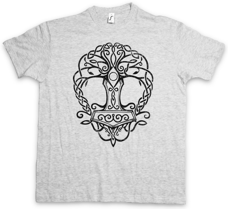 Valkyrie Sword Symbol Damen T-Shirt Walhalla Thor Odin Wikinger Vikings Walküre