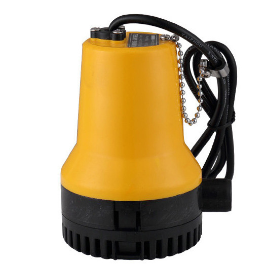 цена Yellow 12V Oil Bilge Pump 3m 3/h Small DC Submersible Water Pump for Fountain Garden Irrigation Swimming Pool Cleaning Farming