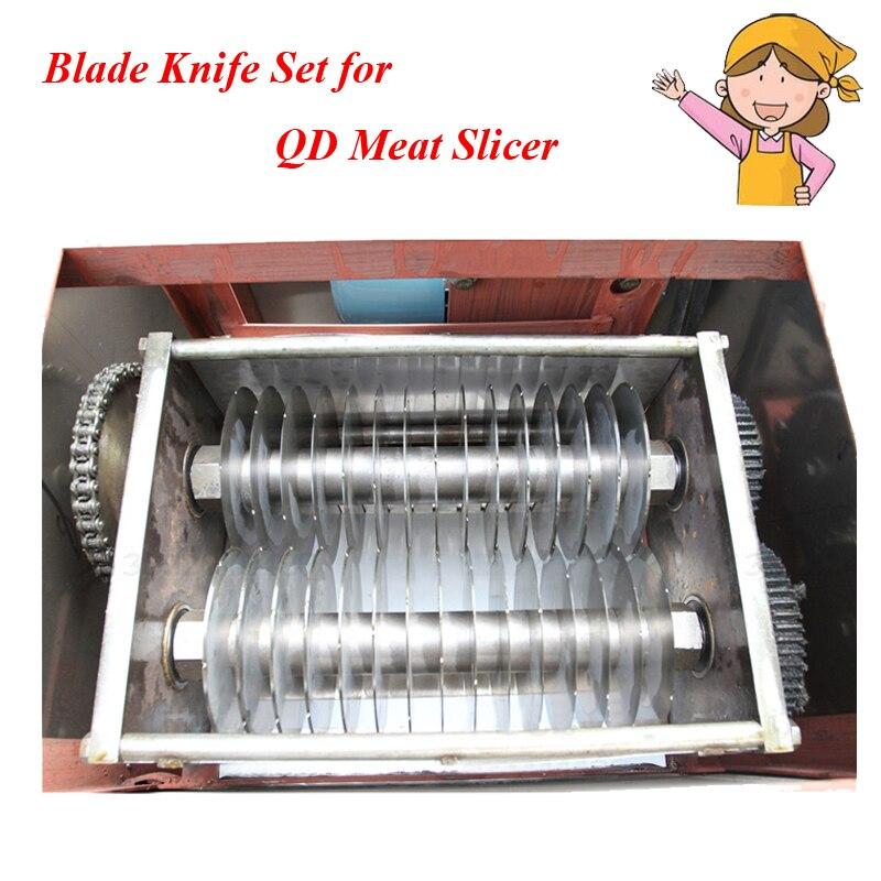 Meat Cutter Blade Knife for QD Meat Cutting Machine Cutting Blade Thickness 2-20mm (can make to order special ) QD welder machine plasma cutter welder mask for welder machine