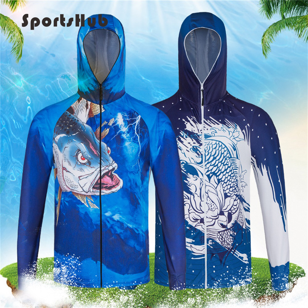 3f7aa5d5 Detail Feedback Questions about SPORTSHUB Ultra Light Hooded Fishing  Clothings Quick Dry Sun Protection Fishing Shirts Anti UV Fishing Clothes  Jacket FT0078 ...