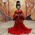 Китайский Древний Костюм Одежда HanFu для 29 см KURHN кукла кукла Ручной Работы одежда для OB27 Bjd куклы Toys Dolls аксессуары Toys