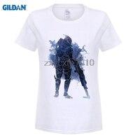 GILDAN Mass Effect 3 N7 Archangel Design Womens T Shirt Brand Famous RPG Game Women T