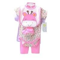 5pcs Per Set Summer 2015 New Born Baby Boy Clothes Ropa Bebe Nino Conjunto Menino Toddler
