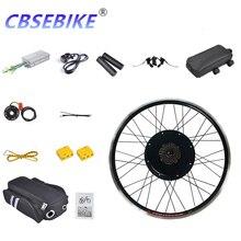 Cbsebike комплект для переоборудования электрического велосипеда 26 дюймов 48v1000w, фара для электровелосипеда в чехол-Крышка для заднего колеса велосипеда мотор HA02-26 HA03-26 HB01-26