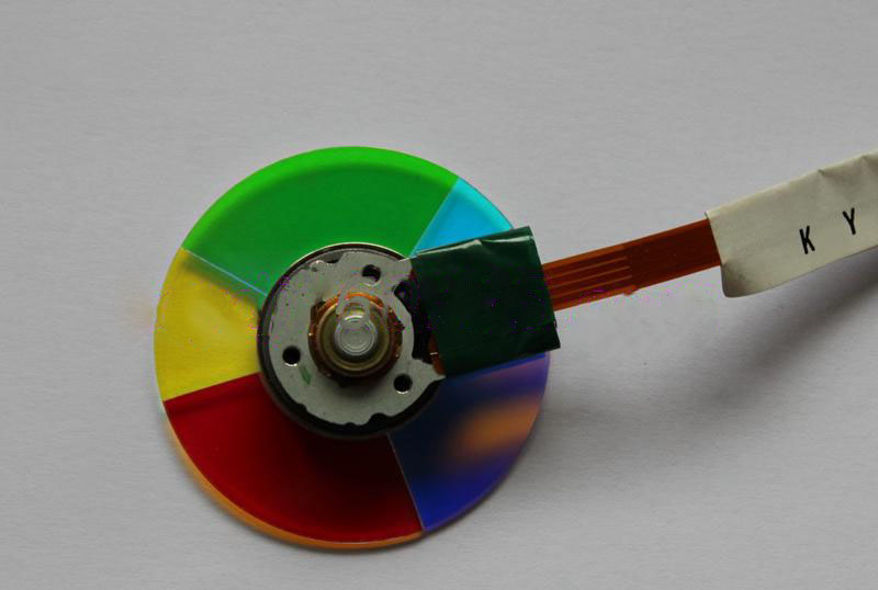 New For Vivitek H1080 H1081 H1085 D750HDC DX881ST Projector Color Wheel