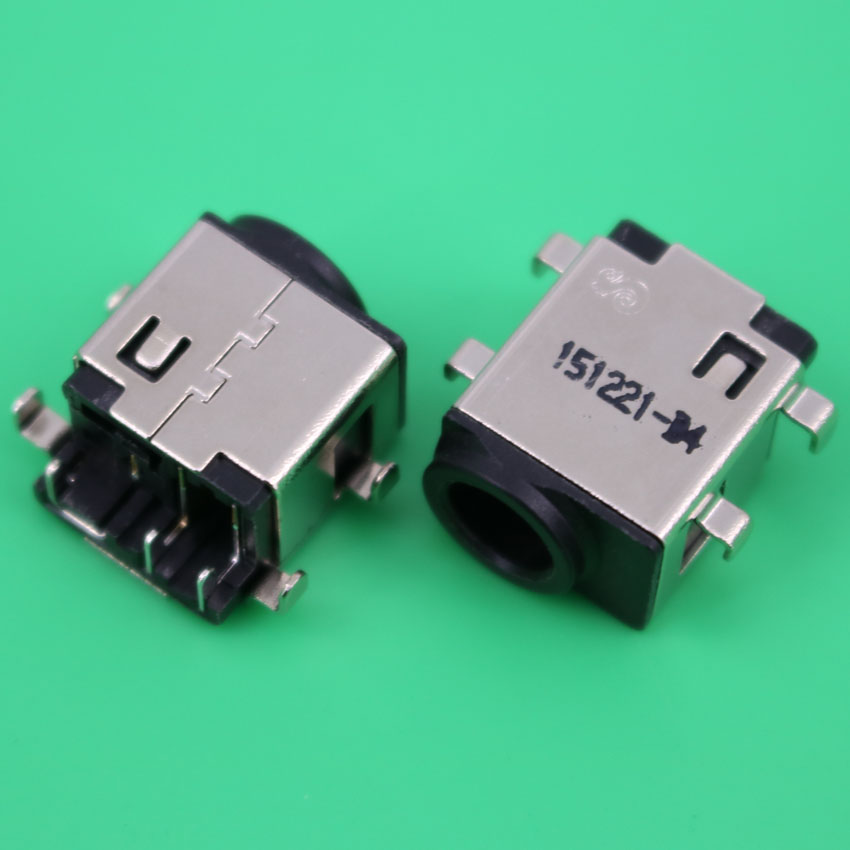 YuXi 2pcsx DC Power Jack Connector for Samsung NP-305E5A 305V5A 300E NP300E5A NP300V5A NP305E5A DC Power Jack Socket russian ru keyboard for samsung 300v5a 305v5a np300v5a with speaker and touchpad