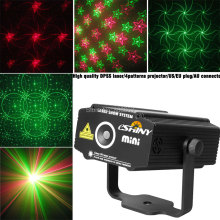 New model Mini 4 patterns Whirlwind R&G Laser Projector Stage LIghts Disco DJ Club xmas family party lighting light Show p2