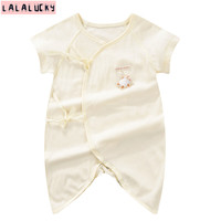 LALALUCKY New Born Baby S Rompers One Pieces Romper Baby Boy Clothes Babies Wear One Piece