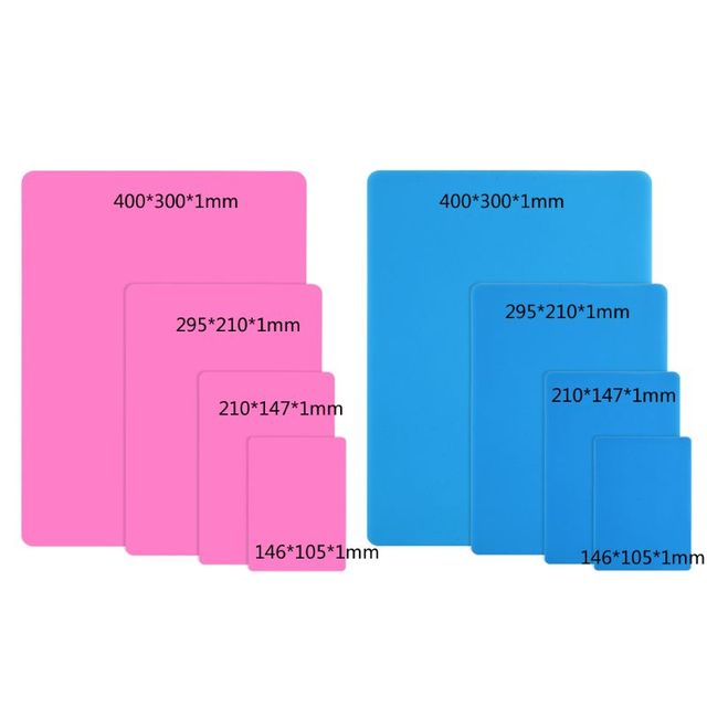 DIY Silicone Mat Resin Pad Craft Tool High Temperature Resistance Sticky Plate