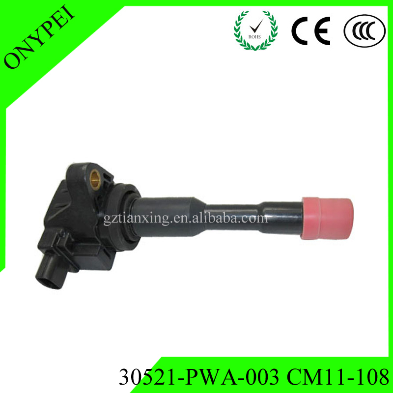 30521-PWA-003 CM11-108 Ignition Coil For Honda Civic Hybrid Sedan 1.3L L4 30521 PWA 003 CM11 108 <font><b>30521PWA003</b></font> image