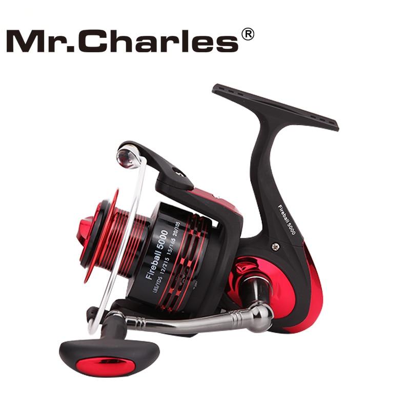 Mr.Charles FireBall Περιστρεφόμενος τροχός - Αλιεία