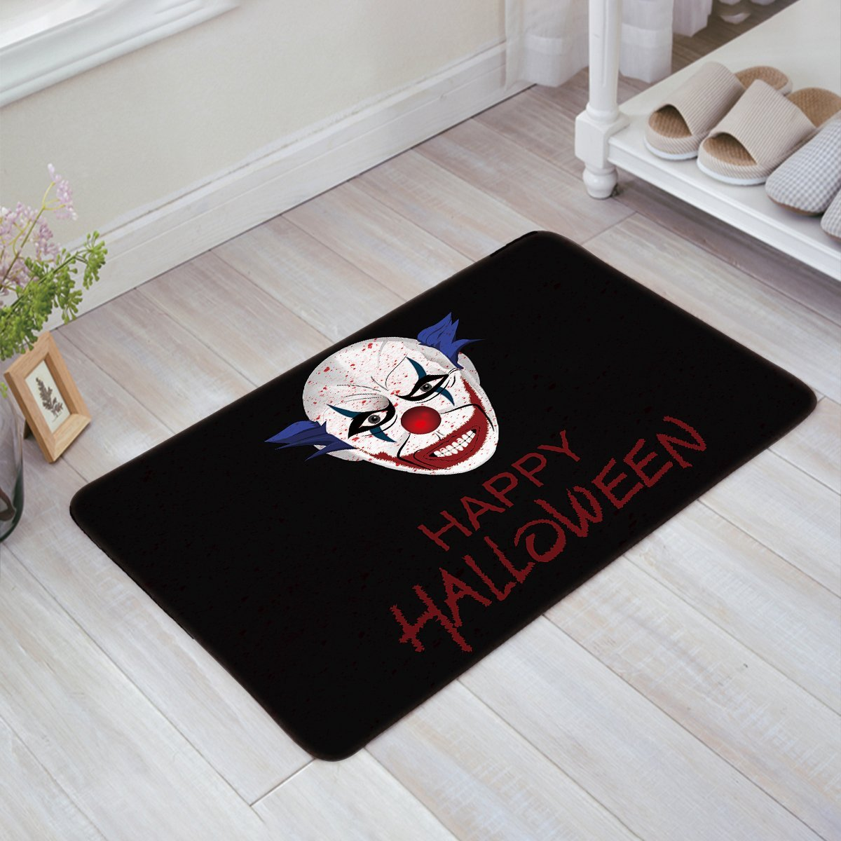 outdoor rug home pad funny itm doormat anti floor carpet mat slip rubber indoor door