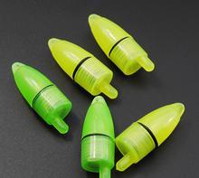 10 шт/лот светящийся морской светодиодный рыболовный фидер колокольчик