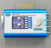 MHS2300A 10MHZ CNC Double Channel Arbitrary Waveform DDS Function Generator Signal Source Ultra Low Power Consumption