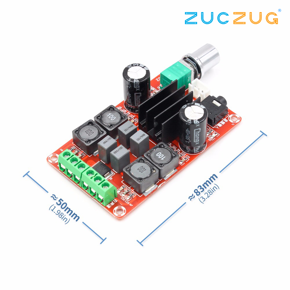 Image 2 - TPA3116D2 2x50W Digital Power Amplifier Board 5V To 24V Dual Channel Stereo AMP-in Integrated Circuits from Electronic Components & Supplies