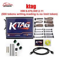 K-TAG 500 tokens schreiben, lesen ist keine begrenzung token) HW: 6,070, SW: 2,11 ECU Programmierung werkzeug für autos mit freier DHL