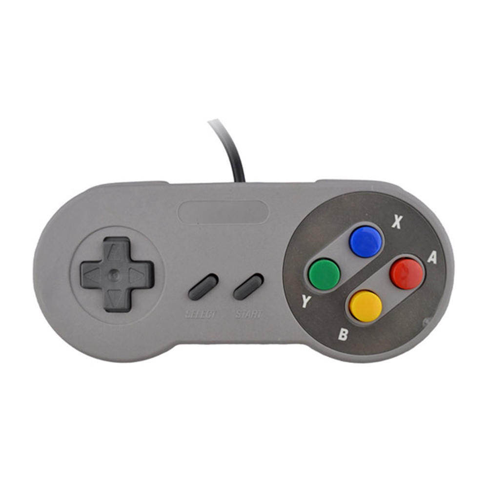 10PCS Wired gamepad retro Super Gaming Joypad Joystick for Nintendo SNES Controller for PC for MAC Controllers handle