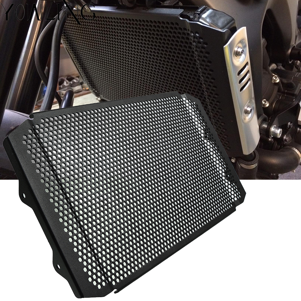 CNC Motorcycle Accessories Radiator Guard Protector Grille Grill Cover FOR YAMAHA XSR900 XSR 900 2016 2017