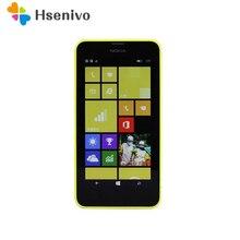 Оригинальные мобильные телефоны Nokia Lumia 630, 4,5 дюймов, Windows Phone 8,1, Snapdragon 400, четыре ядра, 1,2 ГГц, ips 512 МБ+ 8 Гб, две sim-карты
